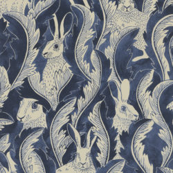 Hares in hiding Dark Denim
